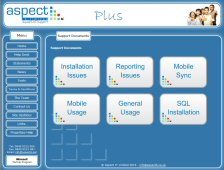 Aspect IT Plus Portal